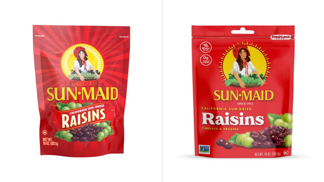 Sunmaid Packaging