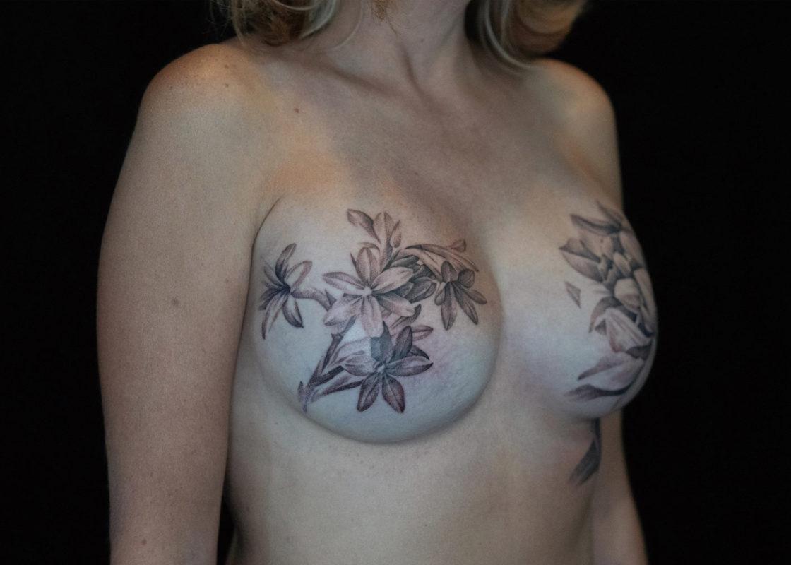 David Allen Post-Mastectomy Tattoos
