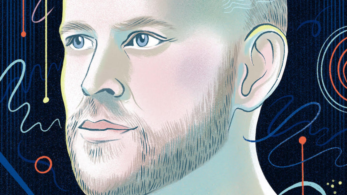 Spotify CEO Daniel Ek Illustration by Eleanor Taylor via The Observer Effect