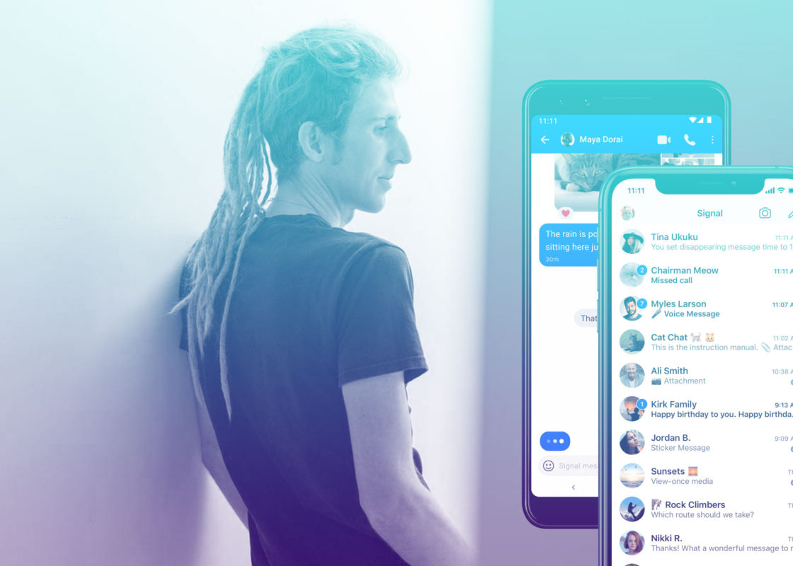 Moxie Marlinspike of Signal Foundation and the Signal app